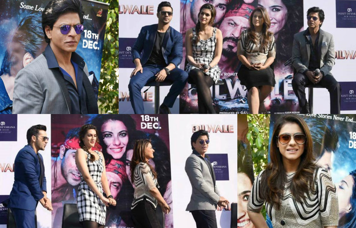 In Pictures : Team 'Dilwale' enchants fans in Delhi