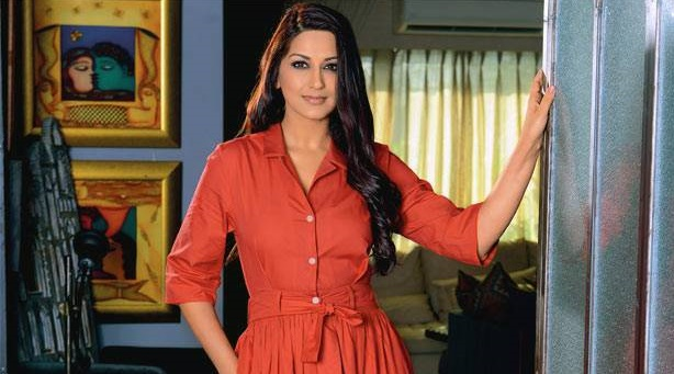 Happy to take a break from acting, says Sonali Bendre