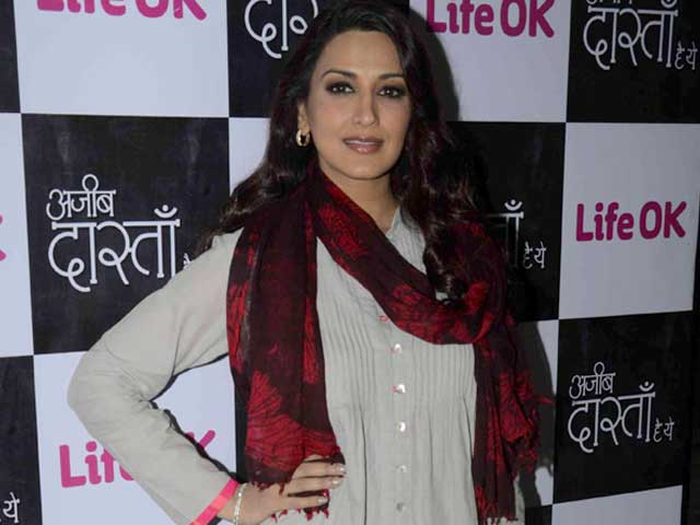 Sonali Bendre - I enjoy being part of both films and TV