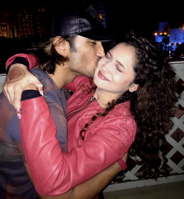 Sushant Singh Rajput just wished girlfriend Ankita Lokhande 'Happy Birthday' with a kiss; and we loved it!