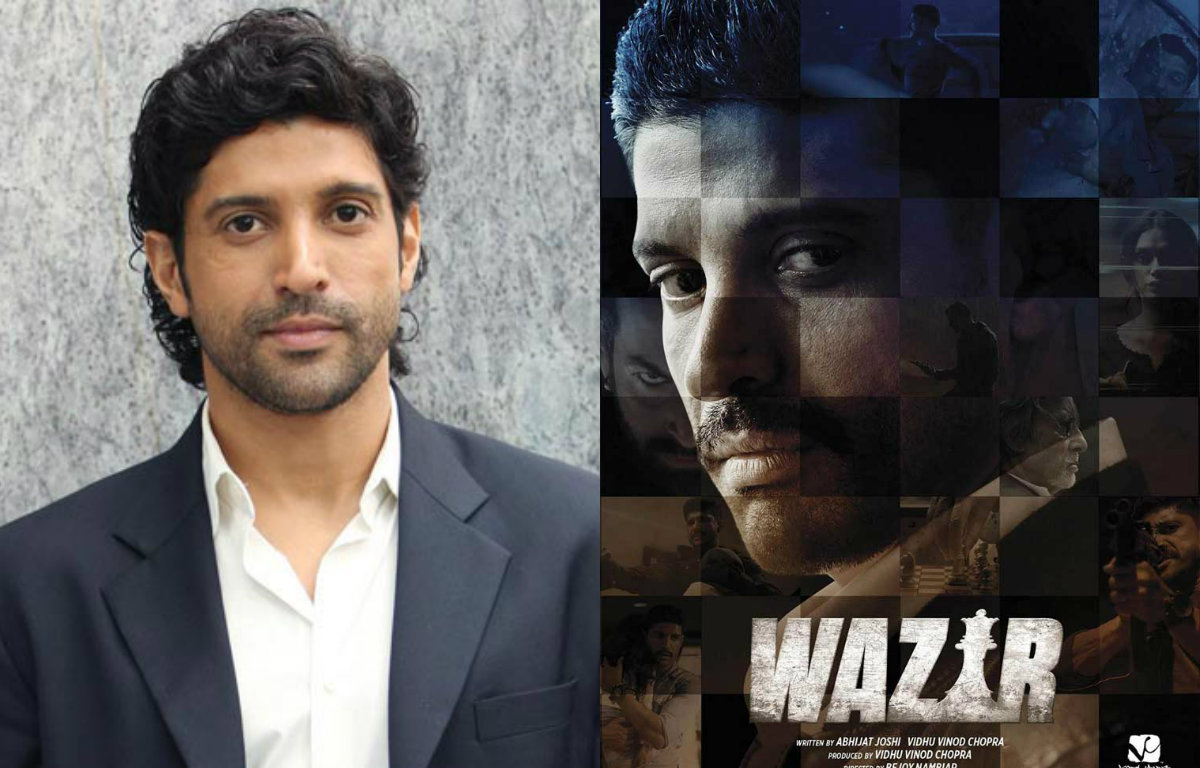 Farhan Akhtar: Was excited to do action scenes in 'Wazir'
