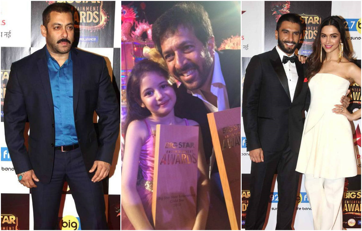 Check out : Bollywood Celebrities who bagged awards at the Big Star Entertainment Awards