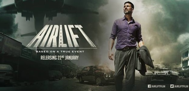 Akshay Kumar's 'Airlift' emerges with flying colors over the weekend