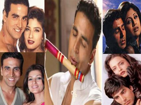 In Pictures – Akshay Kumar's Controversial Love Life