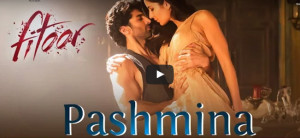 Check out: Aditya Roy Kapur and Katrina Kaif's new romantic track 'Pashmina' from 'Fitoor'