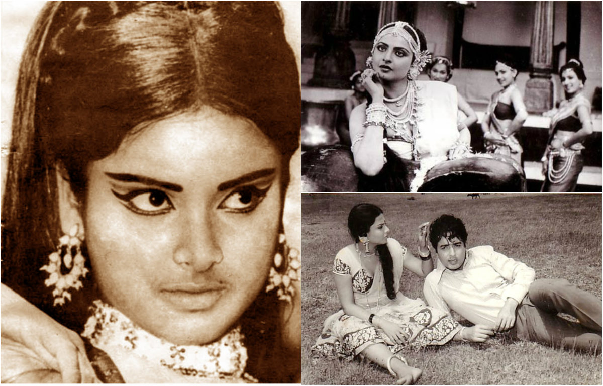 In Pictures : Controversial Life Of The Radiant Rekha