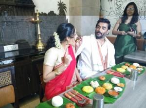 Ritika Singh and Madhavan