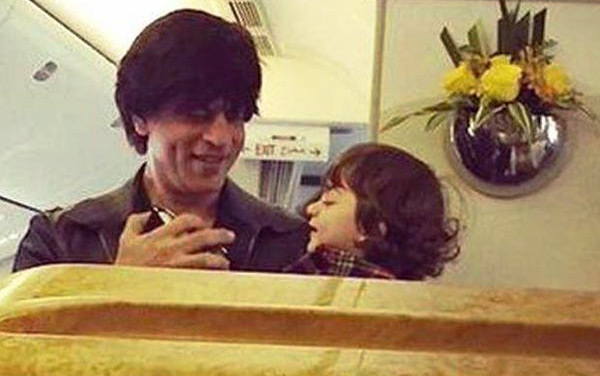 Spotted: Shah Rukh Khan purchasing gifts for dimpled darling AbRam