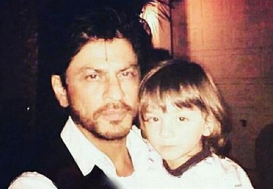 Shah Rukh Khan and AbRam