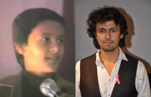 Cute Nostalgia! Sonu Nigam singing during a wedding reception at the age of 11
