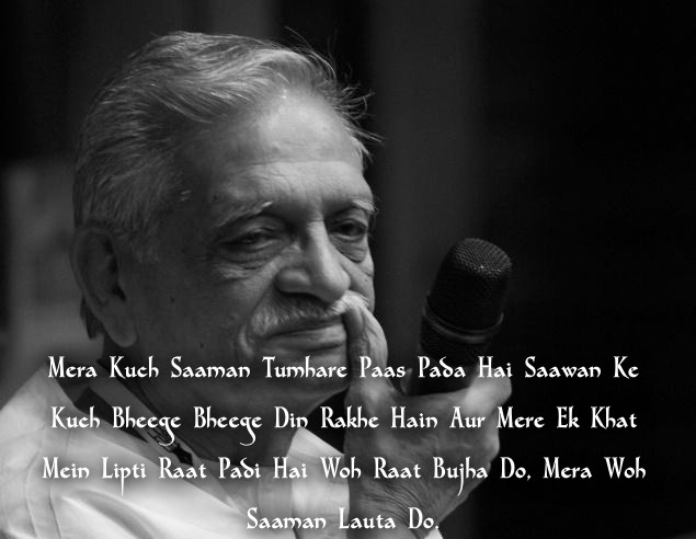Lyrics From Gulzar That We Want To Keep Humming Forever