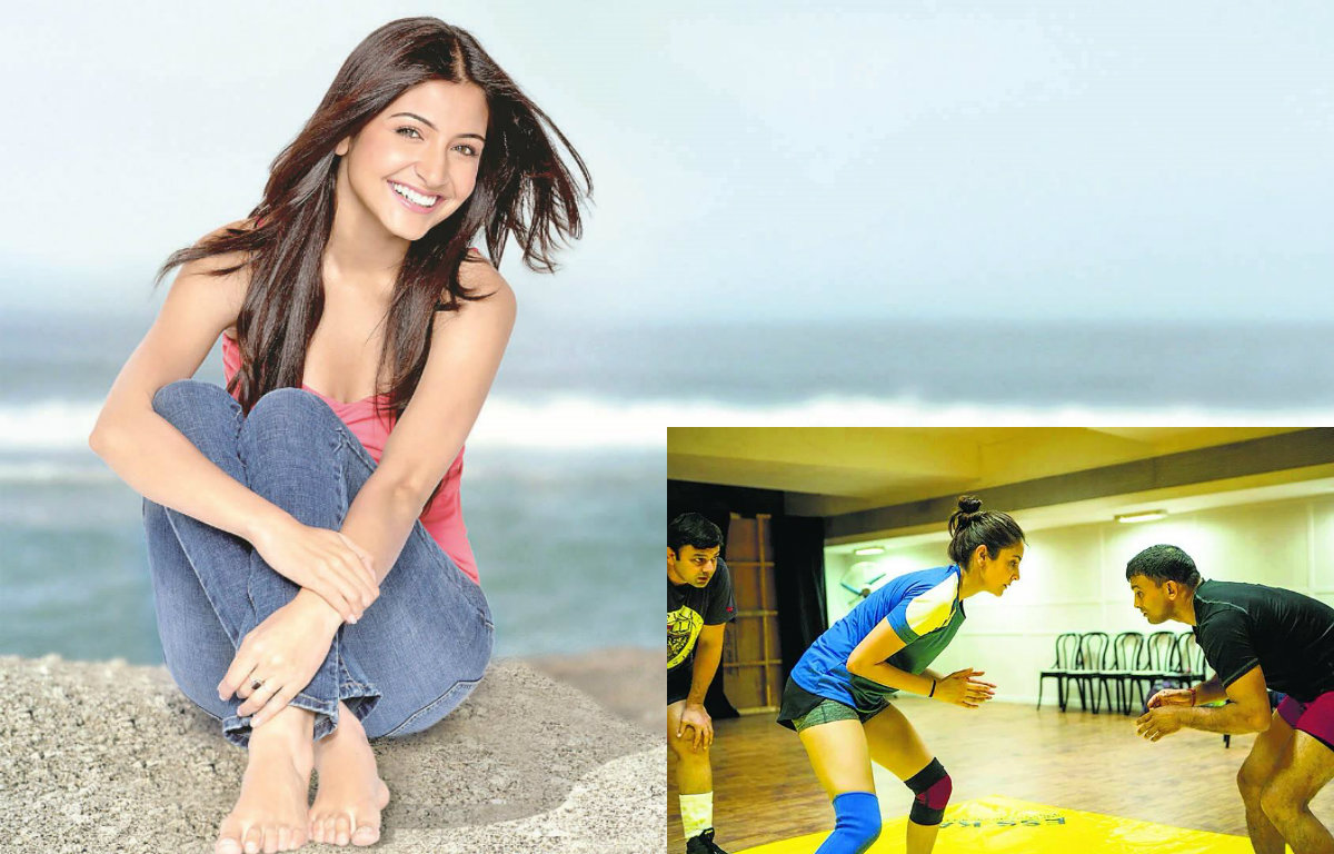 Whoa! Anushka Sharma training hard for 'Sultan'