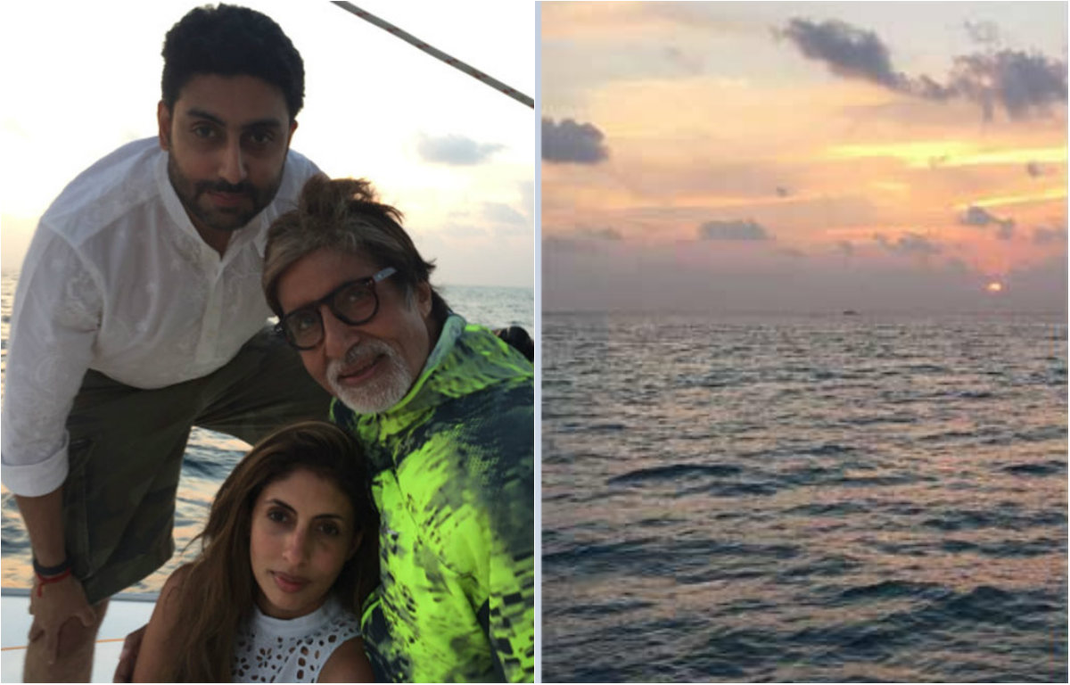 Round Up: Bachchan's beautiful vacation in Maldives
