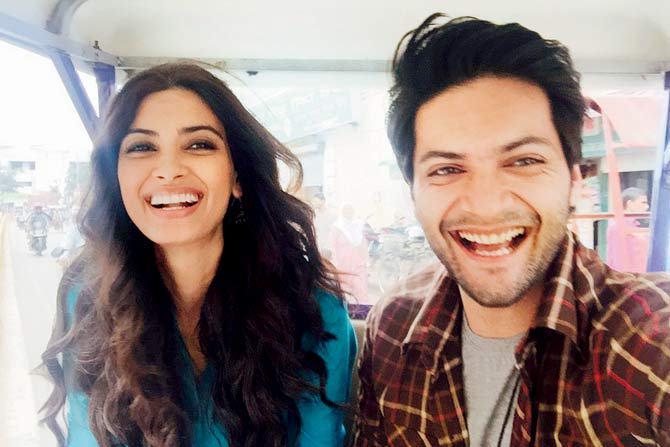 Ali Fazal & Diana Penty  had a lucky escape on 'Happy Bhaag Jayegi' sets