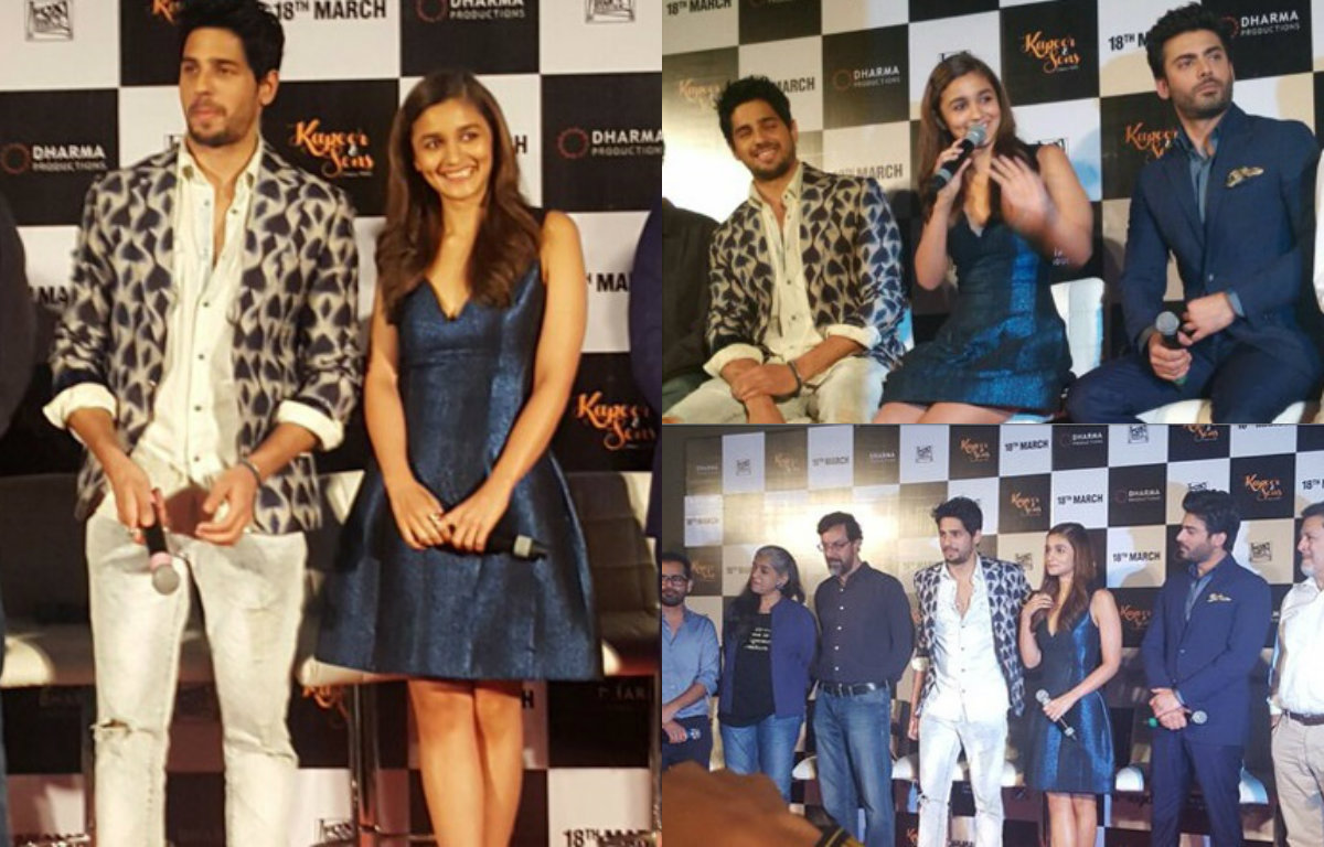 In Pictures - Alia Bhatt, Sidharth Malhotra at the trailer launch of Kapoor & Sons