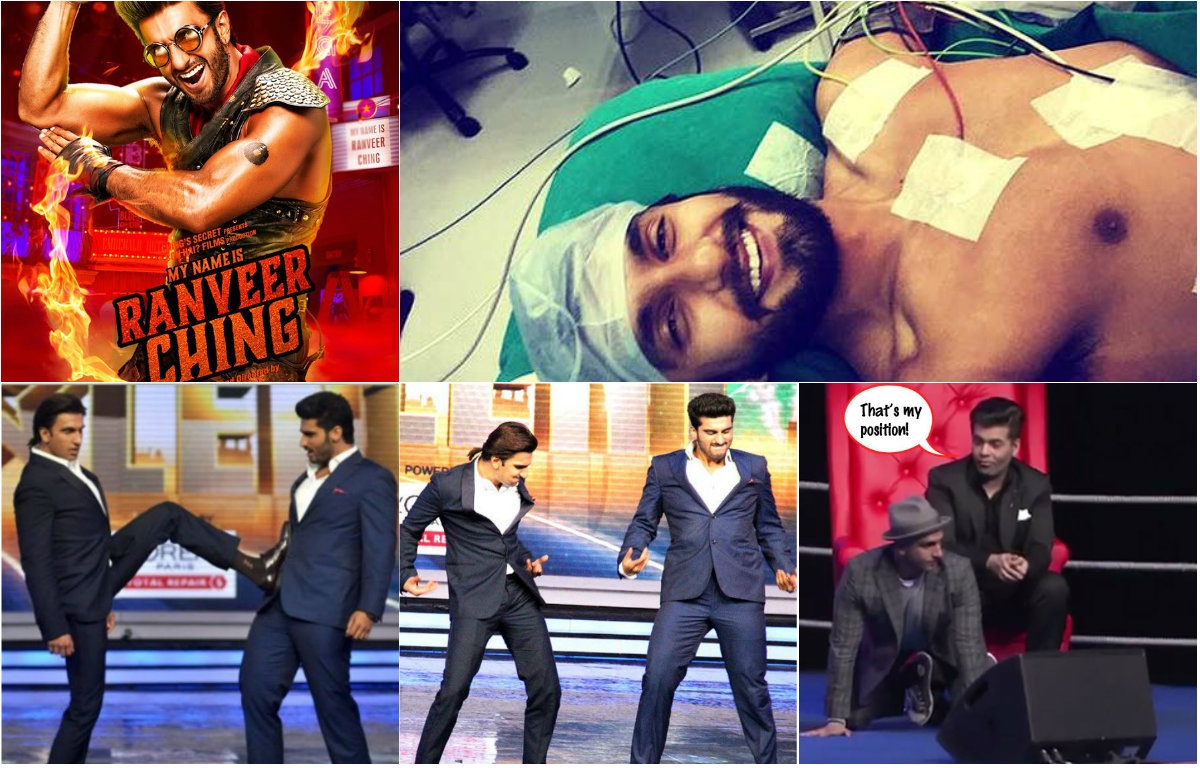 6 Crazy things Ranveer Singh has done that made us fall off our chair laughing
