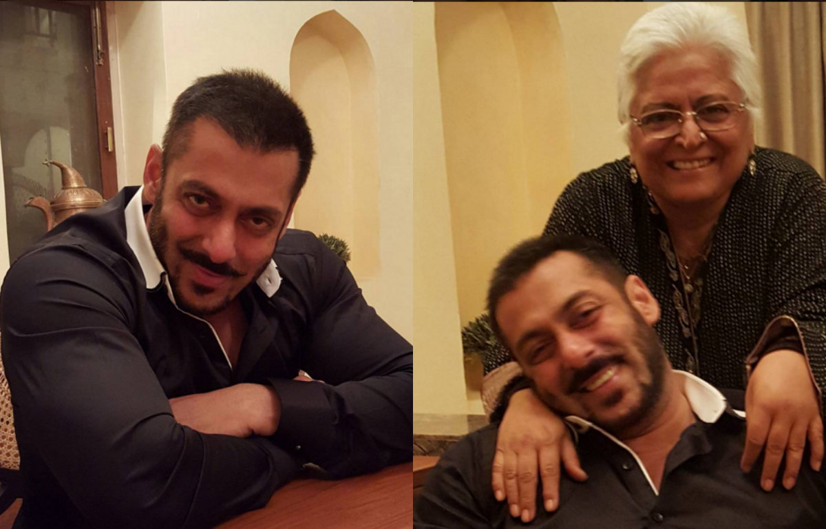 In Pictures - Salman Khan chilling with his family