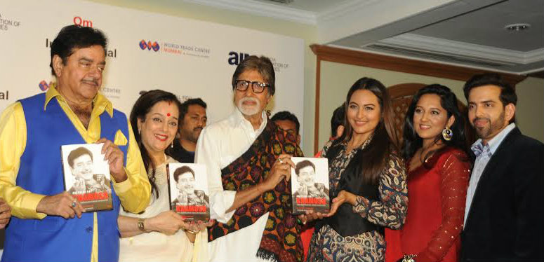 In Pictures: Shatrughan Sinha launches his Biography with family and Amitabh Bachchan