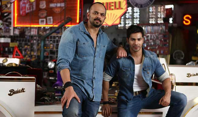 Varun Dhawan comes clear on his fall-out with Rohit Shetty