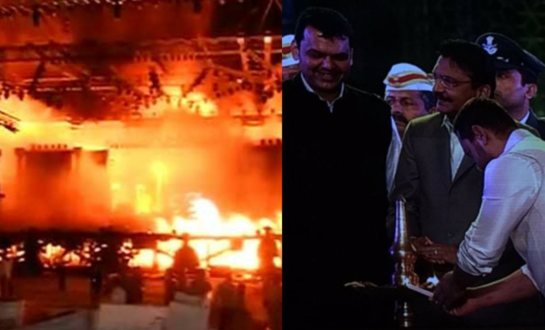 Fire breaks out post Amitabh Bachchan's performance at Make In India event