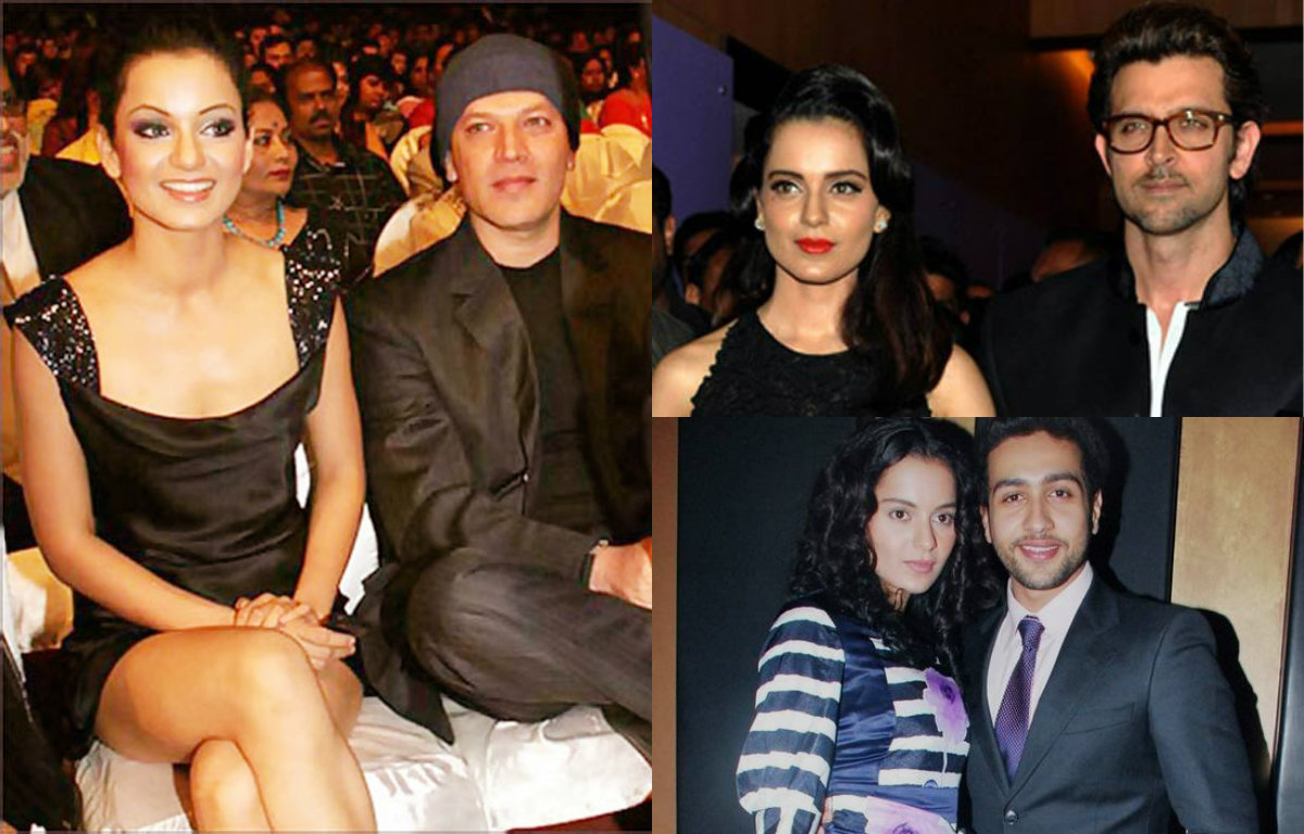 Here's the list! Kangana Ranaut and her 'so-called' relationships