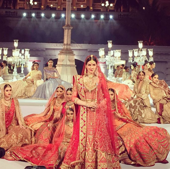 Spotted: Kriti Sanon in her stunning bridal avatar