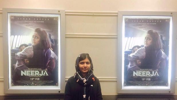 Sonam Kapoor thanks Malala Yousafzai for liking 'Neerja'