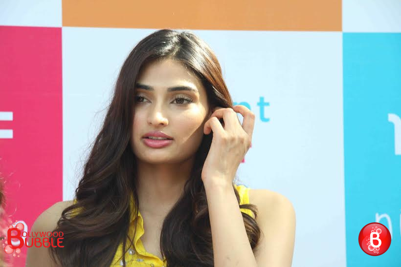 Athiya Shetty shines in yellow at the launch of Nishka Lulla's Summer Collection