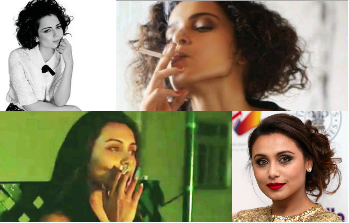 These Bollywood actors were caught smoking in real life