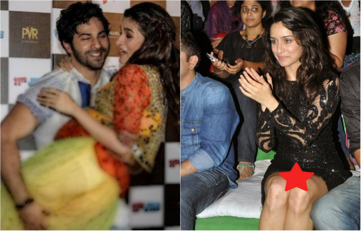 Bollywood celebs captured in their 'oops' moments
