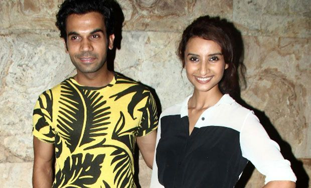 'Rajkumar and I don't interfere in each other's work' : Patralekha