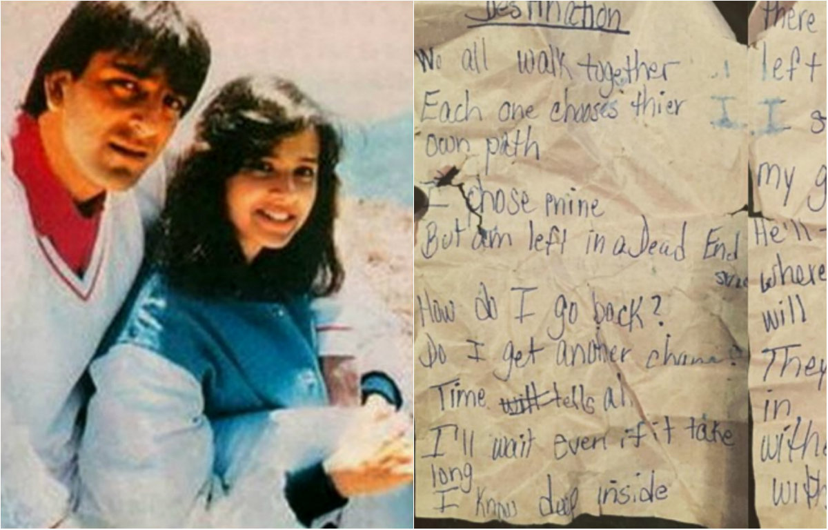 Sanjay Dutt 39 S First Wife 39 S Last Letter Before She Died