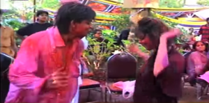 Watch: Shah Rukh Khan & Gauri Khan's Holi Dance