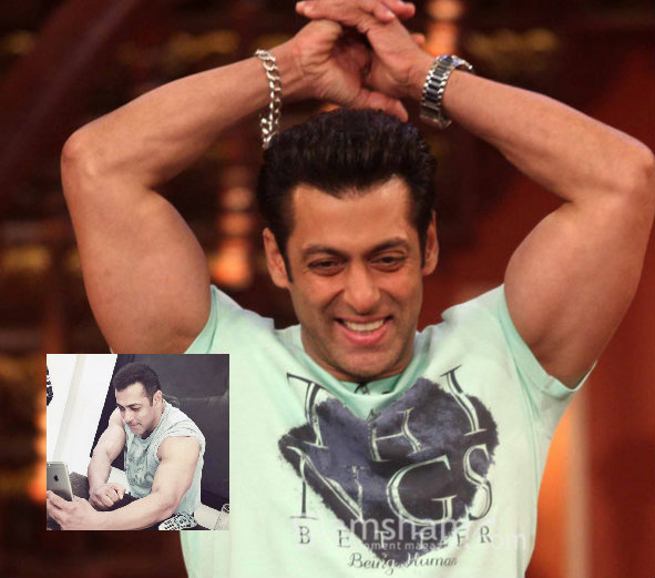 Salman Khan's bicep selfie is something that you can't afford to miss