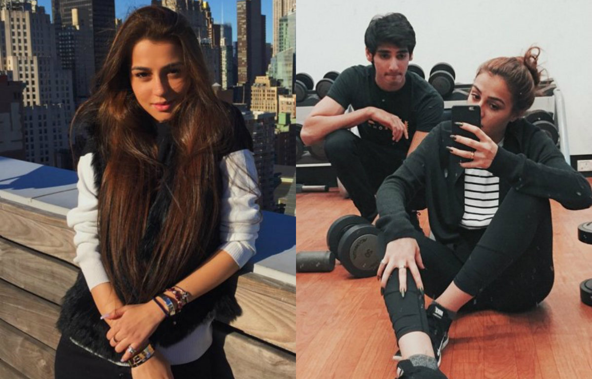Suniel Shetty's son Ahan in a relationship with this stunning beauty