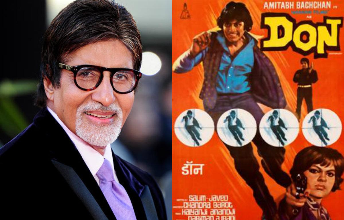 Amitabh Bachchan: 'Don' was a masterpiece