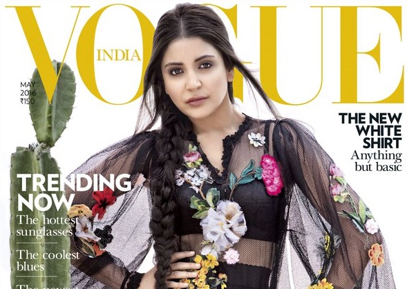 Check out Anushka Sharma's svelte look on Vogue's latest Cover