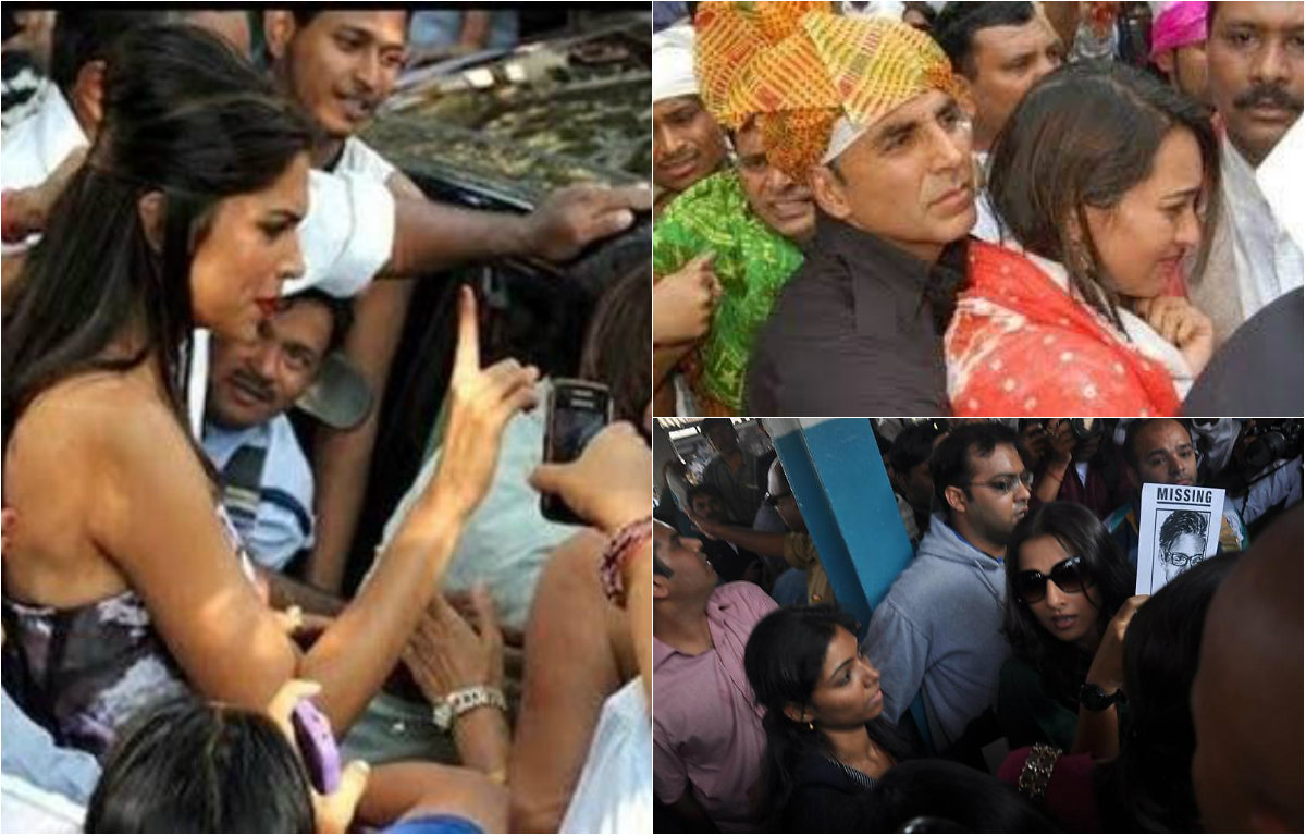 Bollywood celebs who were mobbed