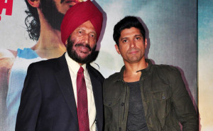 Farhan Akhtar at Milkha Singh's support on his view