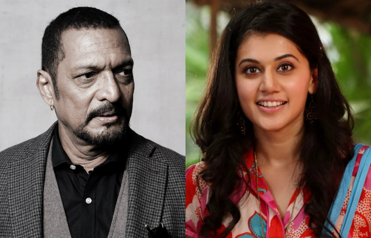 Sharing screen space with Nana Patekar 'icing on cake' for Taapsee Pannu