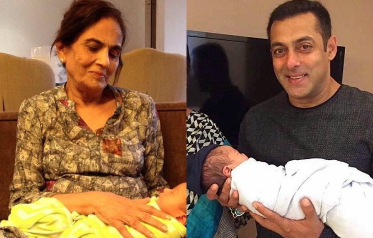 This picture of Salman Khan's mother and nephew Ahil will truly melt your heart