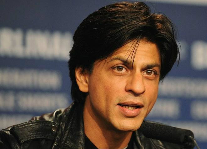 Shah Rukh Khan on his day off