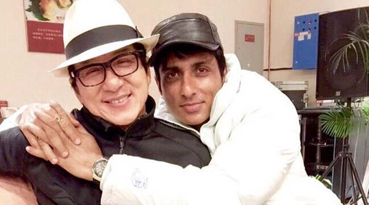 Sonu Sood receives a surprise gift from Jackie Chan
