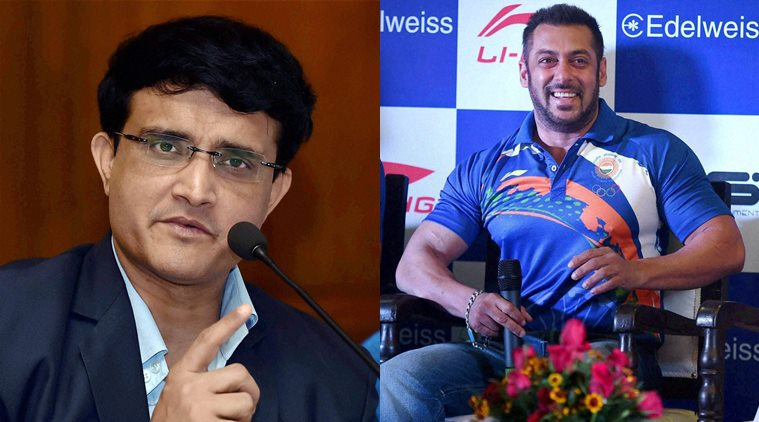 Sourav Ganguly: Salman Khan will be able to add glamour and visibility to Rio Olympics