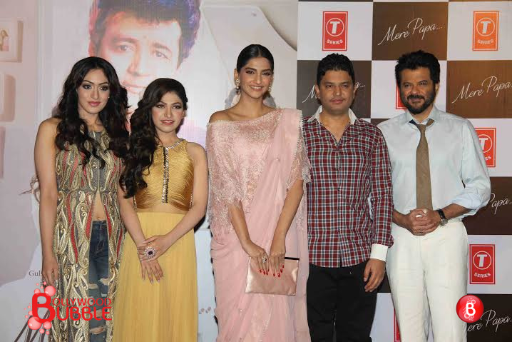 Father-Daughter duo Anil Kapoor & Sonam Kapoor launches 'Mere Papa' song, a tribute to Gulshan Kumar