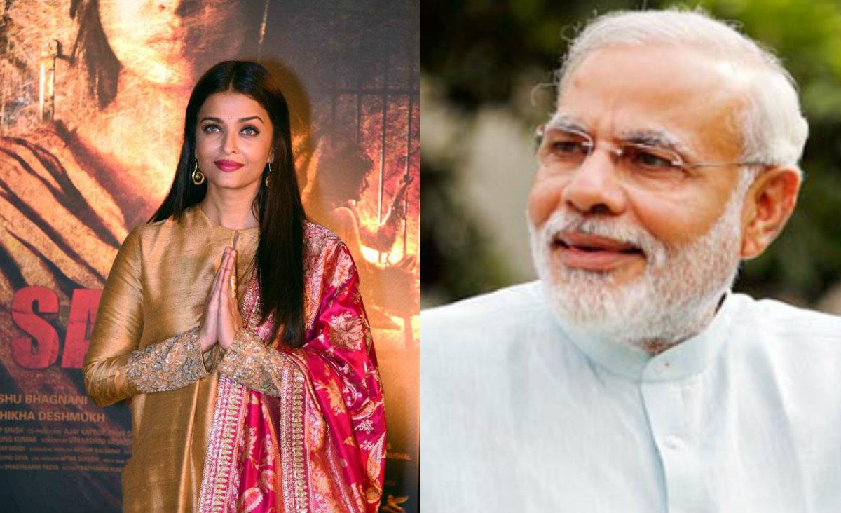 Aishwarya Rai Bachchan praises PM Narendra Modi
