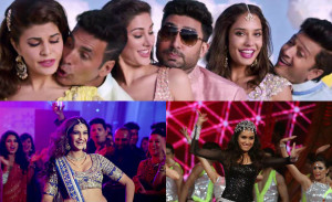 Watch: When team 'Housefull 3' grooved with Sonam Kapoor and Shraddha Kapoor