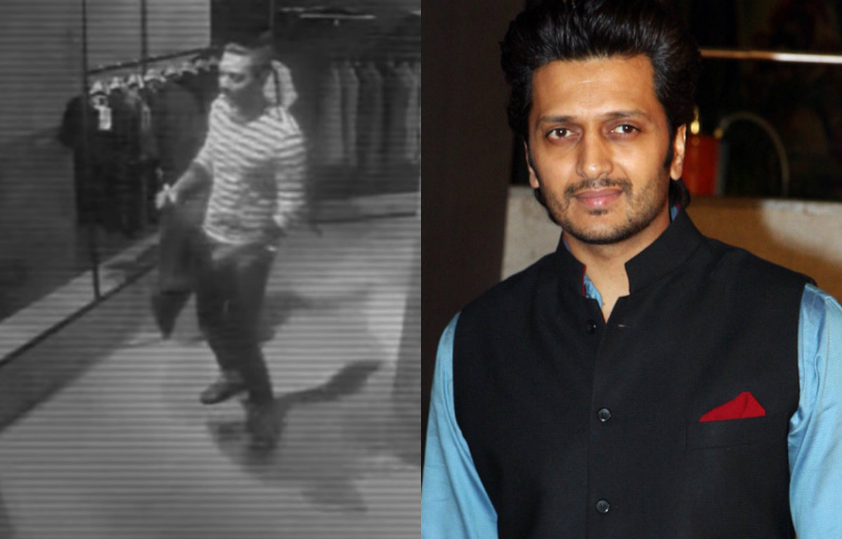 Riteish Deshmukh caught shoplifting on CCTV camera!