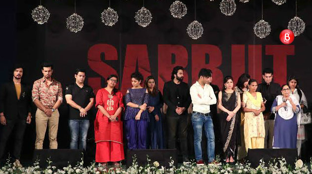 PICS: 'Sarbjit' musical eve makes the cast and Sarabjit Singh's family emotional
