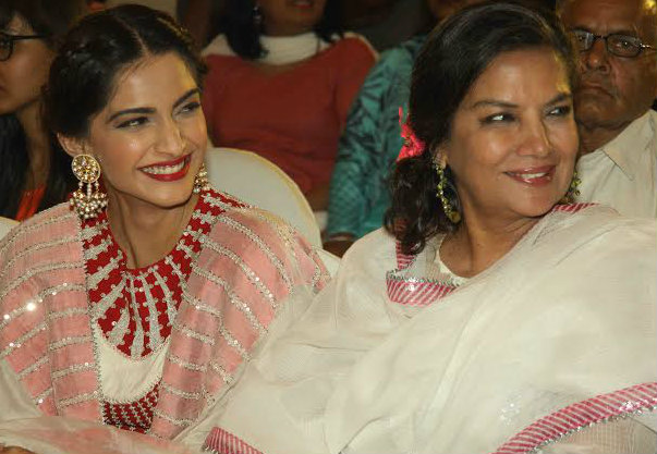 Shabana Azmi gets Mother's Day gifts from on-screen daughter Sonam Kapoor